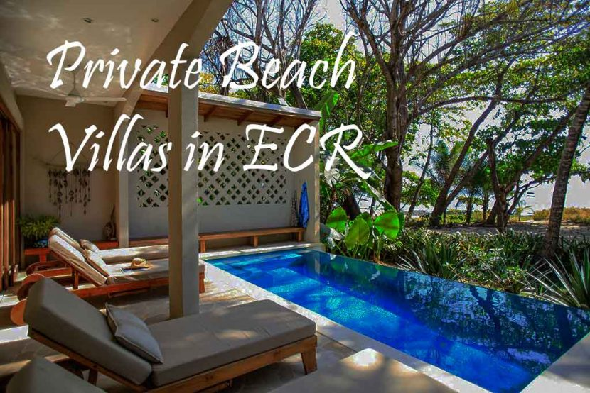 Private Beach Villas in ECR
